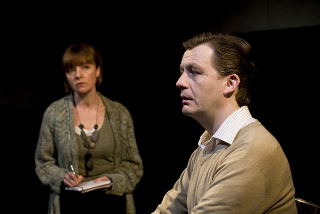 Performance shot from Natural Selection at Theatre 503