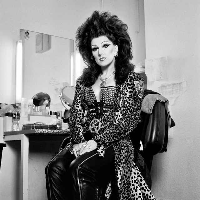"Mazz Murray as The Killer Queen in ""We Will Rock You"""