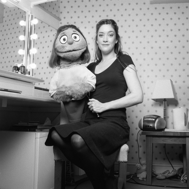 "Julie Atherton and Kate Monster in ""Avenue Q"""