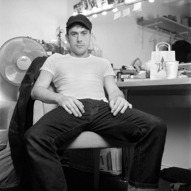 "Chris New as Joe Orton in ""Prick Up Your Ears"""