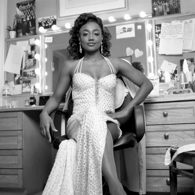 "Patina Miller as Deloris Van Cartier in ""Sister Act"""