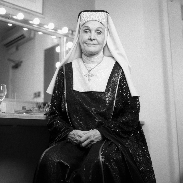 "Sheila Hancock as Mother Superior in ""Sister Act"""