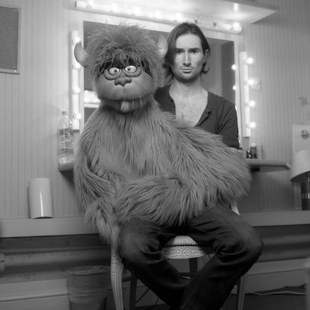 "Tom Parsons and Tekkie Monster in ""Avenue Q"""