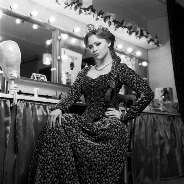 Kimberley Walsh as Princess Fiona in Shrek